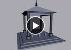 室内设计-搭建凉亭