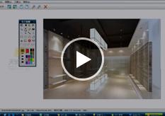 室内设计-店铺空间-照明分析